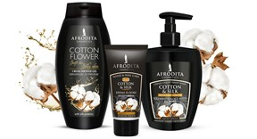 Cotton & silk – for skin that feels silky-soft