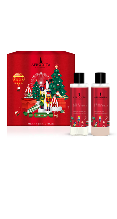 Christmas Gift Packages.Cosmetics Afrodita Gift Package Christmas